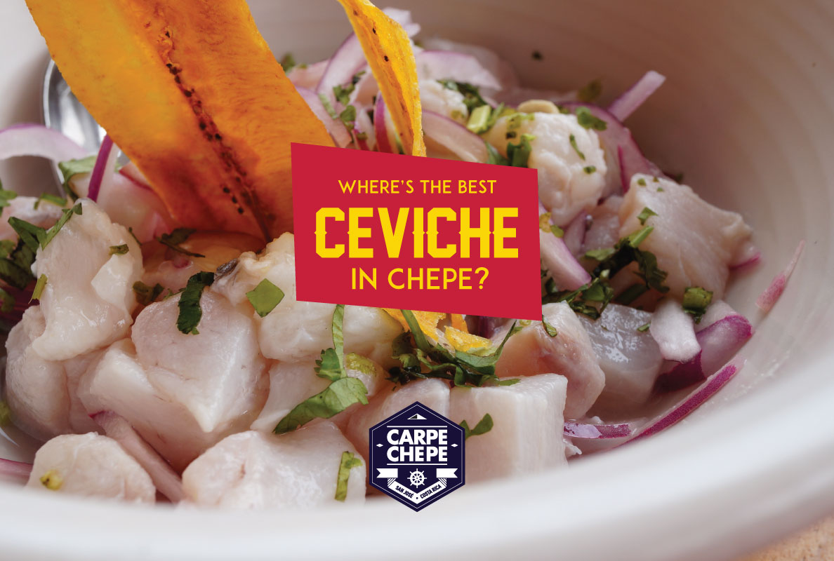 Ceviche in San Jose
