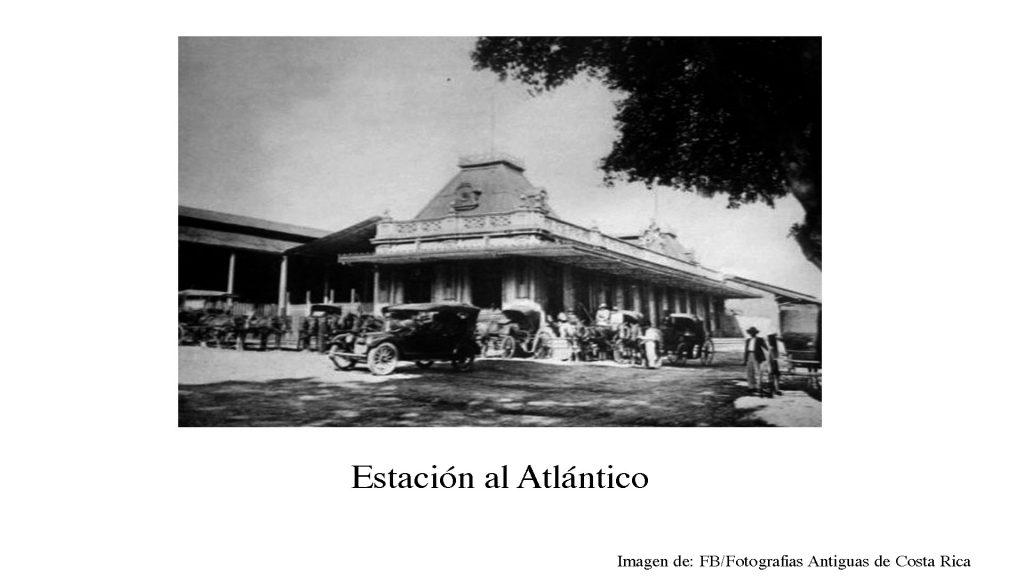 Historia Estacion al Atlantico, San Jose Costa Rica